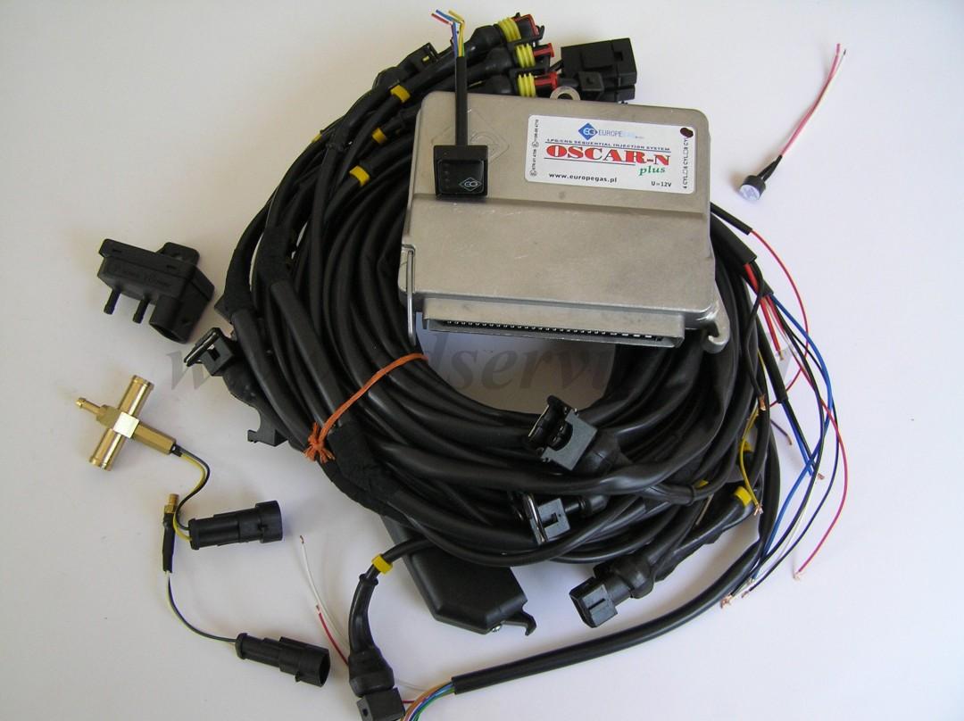 OSCAR-N PLUS 8 cilindrų su jungtimis